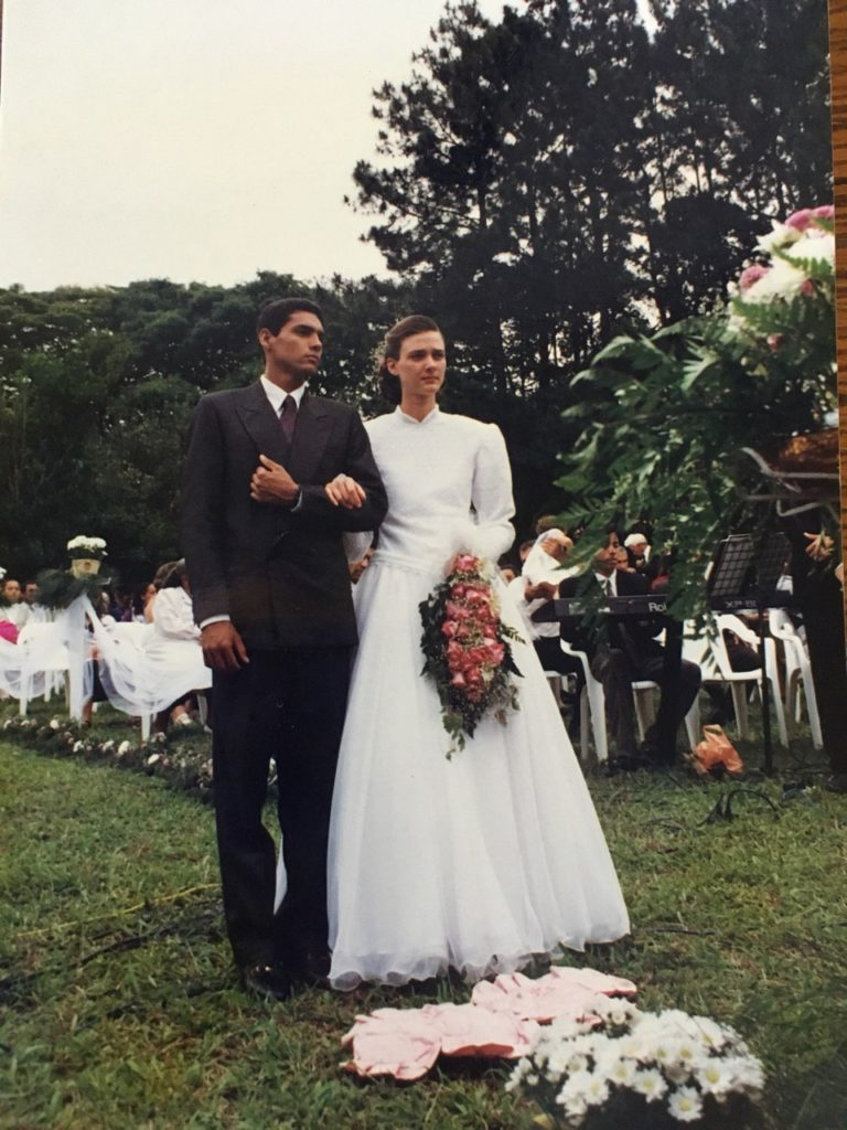 Wedding photos from the 90s