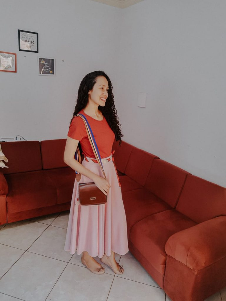 How to match pink with red